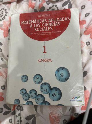 Libro de matemáticas aplicadas a las ccss