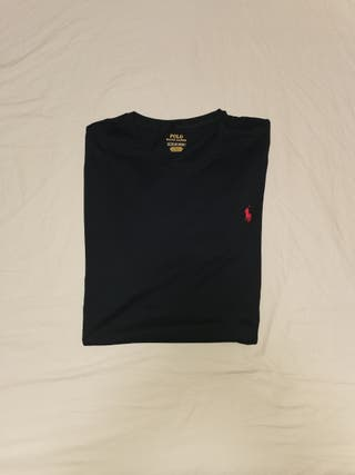 camiseta negra polo ralph lauren