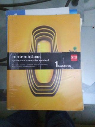 libro matemáticas aplicadas a las ciencias sociale