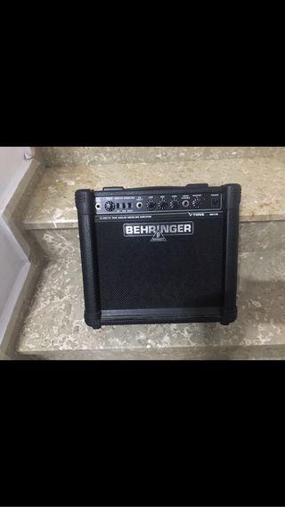 "Amplificador guitarra ""Behringer"" gm108//// 20w"