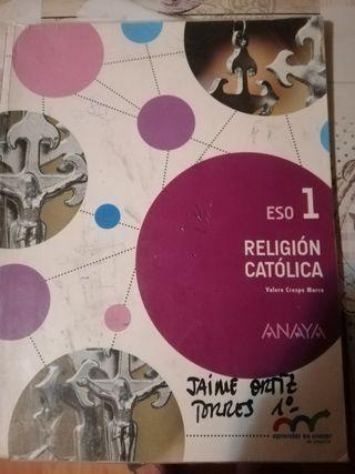 libro de religion catolica 1 eso