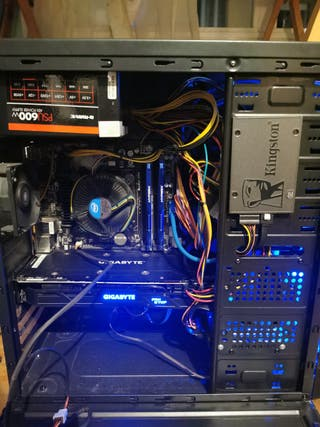 Ordenador PC Gaming (Juegos calidad alta 60 fps)