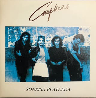 Vinilo Single. Cómplices Sonrisa Plateada