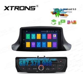 """RADIO GPS 7"""" ANDROID 9.0 STEREO DVD RENAULT"""