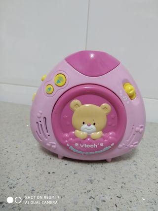 proyector musical osito dormilón rosa vetch