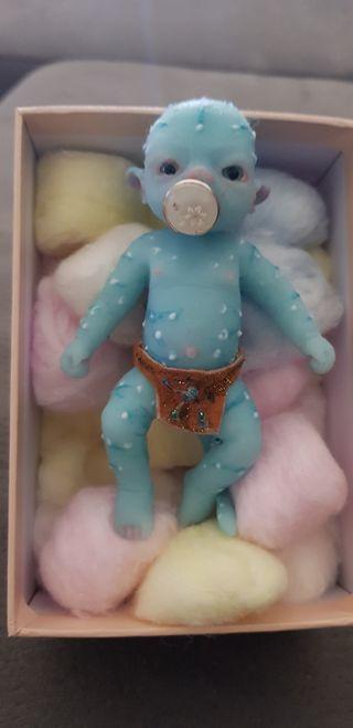 mini bebé avatar de silicona platino