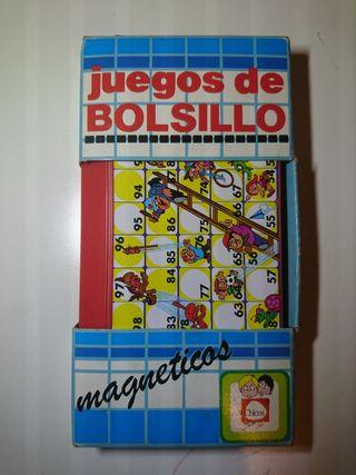 JUEGO DE BOLSILLO MAGNÉTICO ESCALERA DE CHICOS