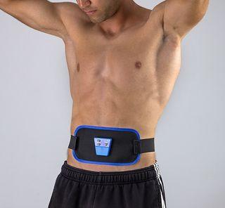 Cinturón electro estimulador muscular