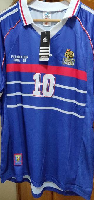 camiseta de fútbol de Francia Zidane