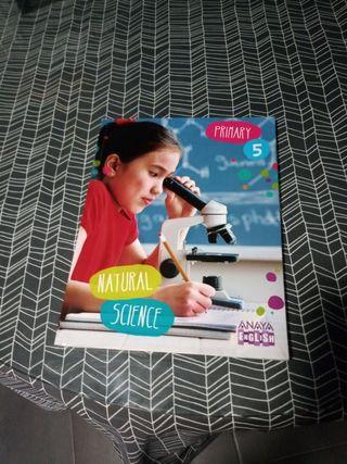 Libro Natural Science 5 primaria Anaya English