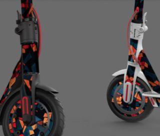 Reparación de patinete eléctrico.