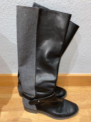 Botas altas negras talla 39