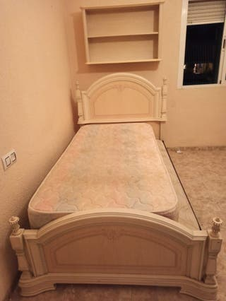 Dormitorio individual completo