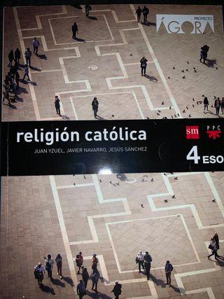Libro de Religión Católica 4 ESO