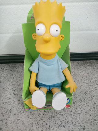 Juguete antiguo Bart Simpson mattel