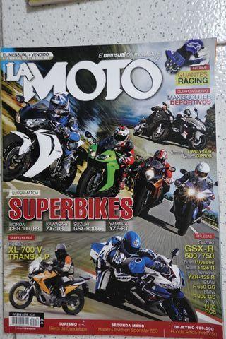 HONDA CBR1000 RR Revistas LA MOTO 2008