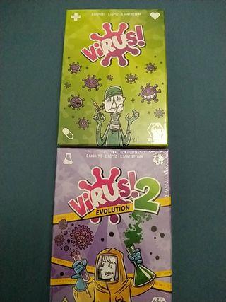 Juegos de cartas virus y virus 2 nuevo
