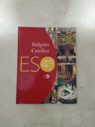 LIBRO RELIGIÓN CATÓLICA 4°ESO