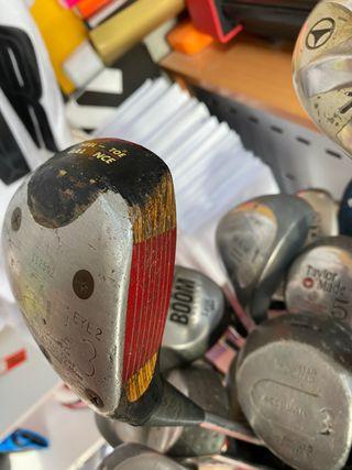 Palo madera golf antiguo Ping