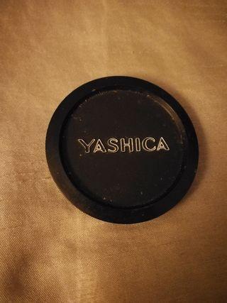 Tapa objetivo cámara fotos Yashica 54mm