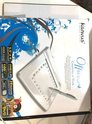 Kanvus Tableta Gráfica Kanvus Office 54
