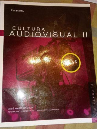 libro cultura audiovisual 2° bachillerato de artes