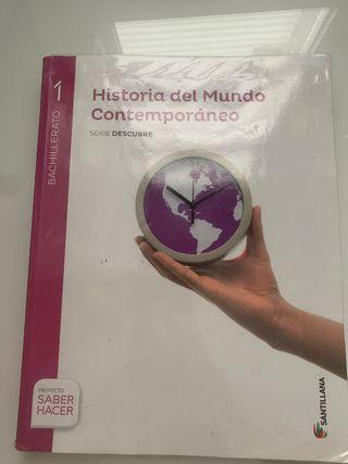 Historia contemporánea ed.santillana