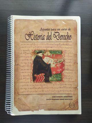 Libro Historia del Derecho UGR