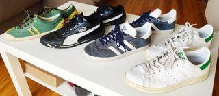 zapatillas adidas, puma, Kawasaki talla 42