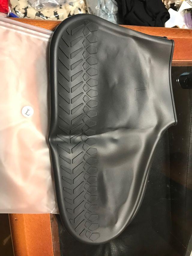 Funda zapatos de silicona para lluvia