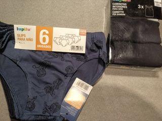calzoncillos, camiseta interior