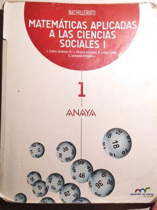 Libro matemáticas aplicada a sociales I