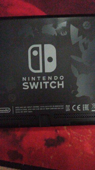 Nintendo switch edición evee
