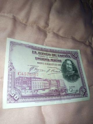 vendo varios billetes antiguos y monedas