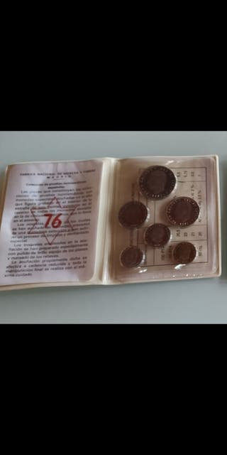 Lote Pruebas numismáticas 1976