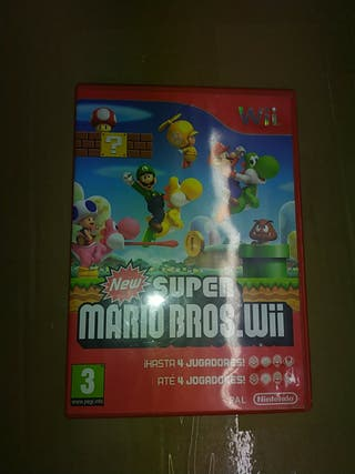 Nintendo Wii - New Super Mario Bros