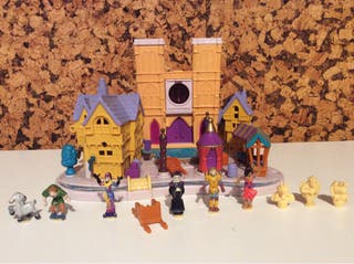Polly pocket Jorobado Notredame Bluebird Disney