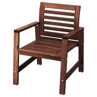 Sillón silla exterior ikea modelo applaro