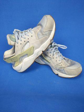 Zapatillas Nike Huarache gris azulado