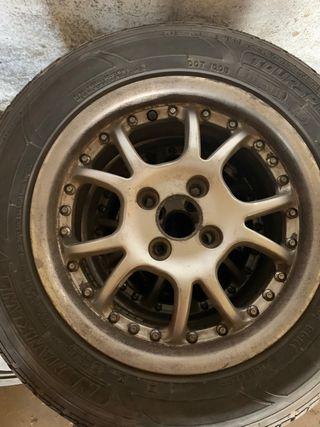 Llantas y neumáticos Opel 4x100