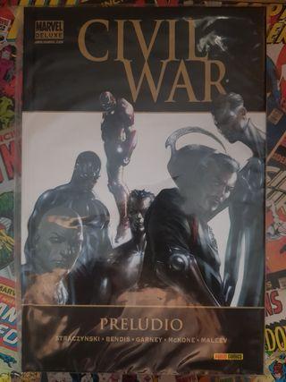 Marvel Deluxe Civil War Preludio