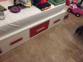 Estructura cama 2x1