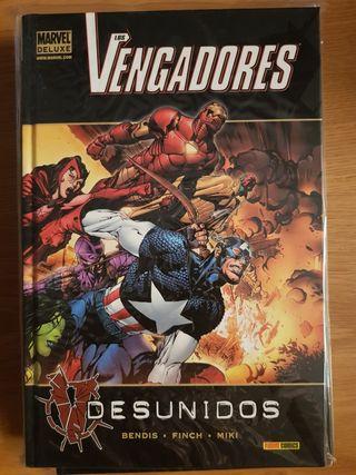 Marvel Deluxe Vengadores Desunidos