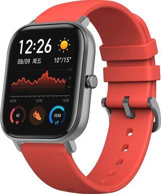 Reloj Xiaomi amazfit GTS color Rojo