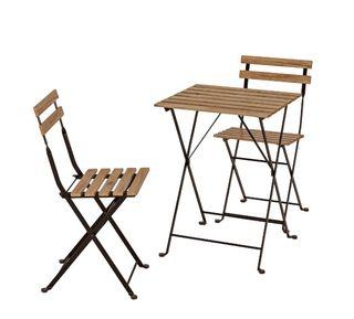Conjunto mesa y sillas exterior Ikea