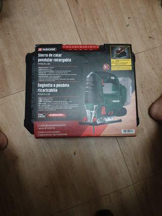 sierra de calar parkside sin bateria ni cargador
