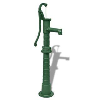 Bomba de agua de jardín con soporte hierro fundid