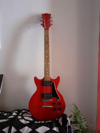 Guitarra eléctrica vintage tipo Les Paul