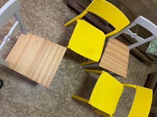 Sillas IKEA pack de 4