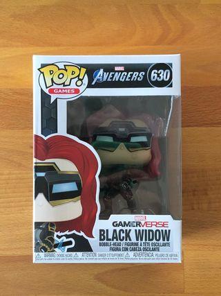 Funko Pop Black Widow Avengers game